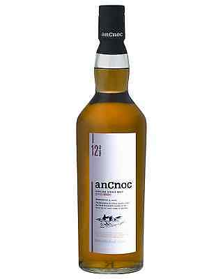 anCnoc 12 Year Old Scotch Whisky 700mL bottle Single Malt Highland
