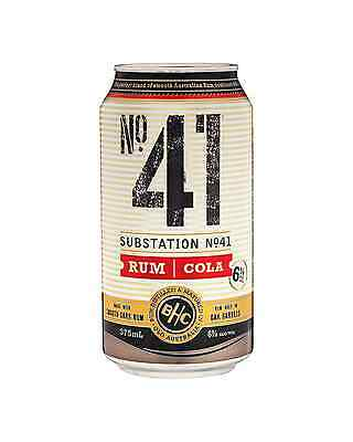 Substation No.41 Rum and Cola 375mL case of 24
