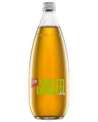 CAPI Dry Ginger Ale 750mL case of 12 Soft Drinks