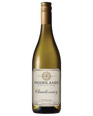 Woodlands Chardonnay bottle Dry White Wine 750mL Margaret River