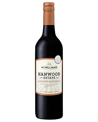 McWilliam's Hanwood Estate Cabernet Sauvignon case of 6 Dry Red Wine 750mL