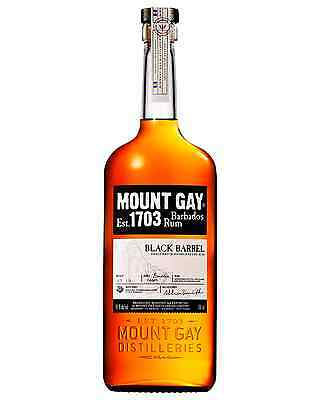 Mount Gay Black Barrel Rum bottle Dark Rum 700mL