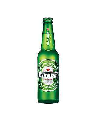 Heineken Lager Bottles 330mL case of 24 International Beer