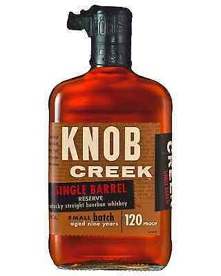 Knob Creek 9 Year Old Single Barrel Reserve Bourbon 700mL bottle