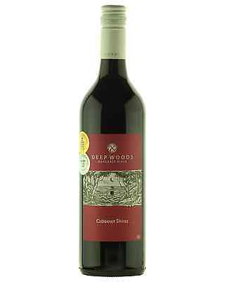 Deep Woods Ebony Cabernet Shiraz case of 6 Dry Red Wine 750mL Margaret River