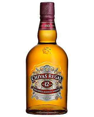 Chivas Regal 12 Year Old Scotch Whisky 700mL case of 6 Blended Whisky