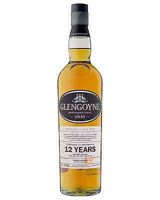 Glengoyne 12 Year Old Scotch Whisky 700mL case of 6 Single Malt Highland