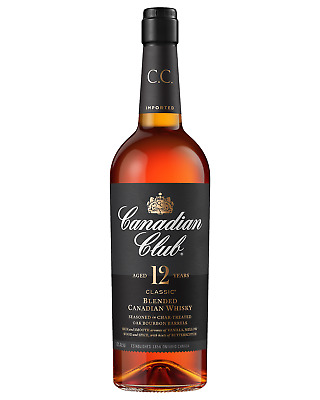 Canadian Club Classic 12 Year Old Whisky 700mL Canadian Whisky