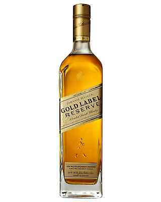 Johnnie Walker Gold Label Reserve Scotch Whisky 750mL case of 6 Blended Whisky