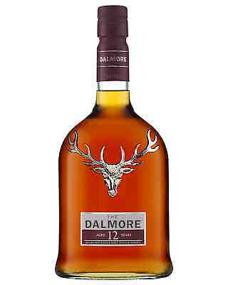 The Dalmore 12 Year Old Scotch Whisky 700mL case of 6 Single Malt Highland