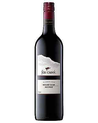 Fox Creek Short Row Shiraz case of 12 Dry Red Wine 750mL McLaren Vale