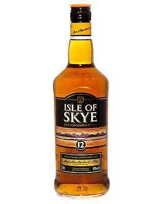 Isle of Skye 12 Year Old Blended Scotch Whisky 700mL case of 6 Blended Whisky