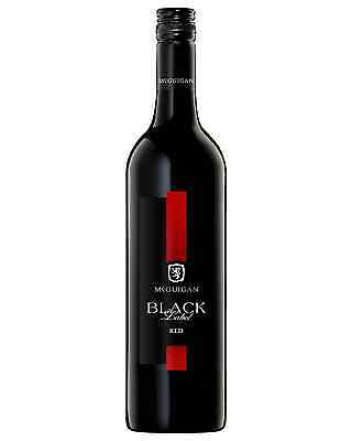 McGuigan Black Label Red case of 6 Red Blend Dry Red Wine 750mL