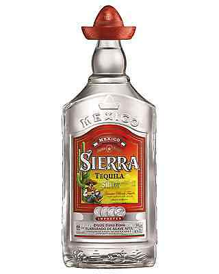 Sierra Tequila Silver 700mL bottle Blanco