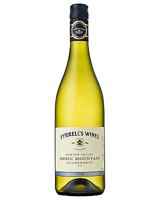 Tyrrell's Moon Mountain Chardonnay case of 6 Dry White Wine 750mL Hunter Valley
