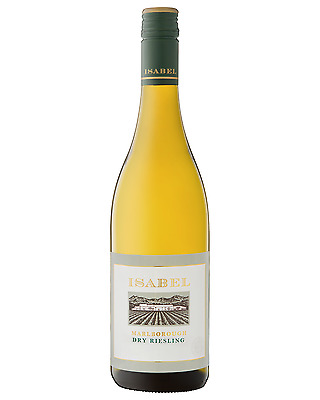 Isabel Estate Dry Riesling case of 6 Dry White Wine 750mL Marlborough