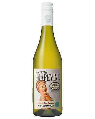 McWilliam's On The Grapevine Chardonnay case of 6 Dry White Wine 2015* 750mL
