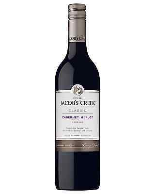 Jacob's Creek Cabernet Merlot case of 6 Dry Red Wine 750mL