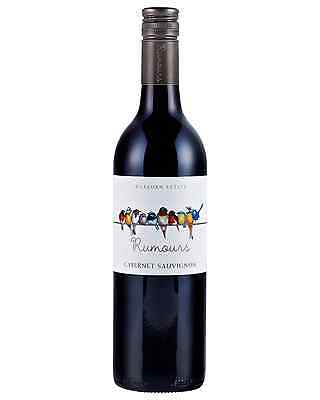 Warburn Rumours Cabernet Sauvignon case of 6 Dry Red Wine 750mL