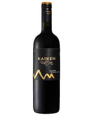 Kaiken Ultra Malbec bottle Dry Red Wine 750mL Mendoza