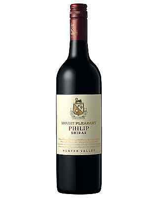 Mount Pleasant Philip Shiraz case of 6 Dry Red Wine 750mL Hunter Valley