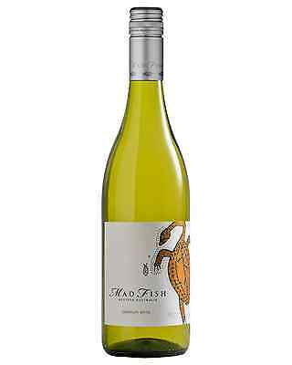 MadFish Premium White Chardonnay case of 6 Dry White Wine 750mL