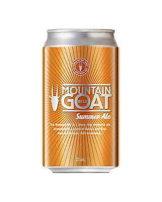 Mountain Goat Summer Ale Cans 375mL case of 24 Craft Beer