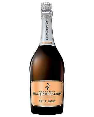 Billecart-Salmon Brut Rosé bottle Chardonnay Pinot Noir Pinot Meunier Wine 750mL