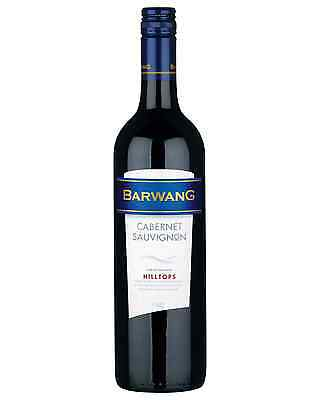 Barwang Cabernet Sauvignon case of 6 Dry Red Wine 750mL Hilltops
