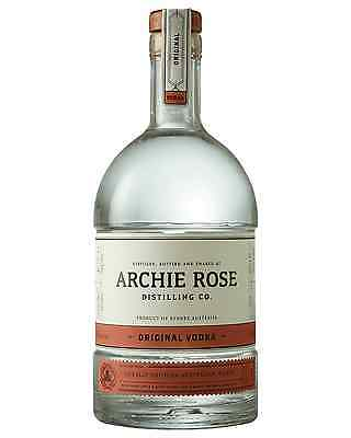 Archie Rose Distilling Co. Original Vodka 700mL case of 6