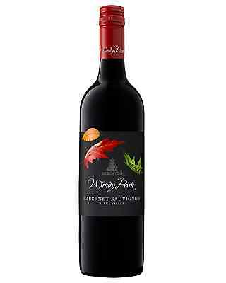 De Bortoli Windy Peak Cabernet Sauvignon case of 6 Dry Red Wine 2013* 750mL