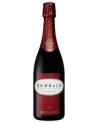 Rumball Sparkling Shiraz case of 6 Sparkling Red Wine Non Vintage* 750mL