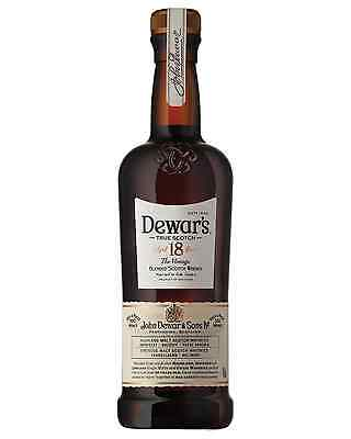 Dewar's The Vintage 18 Year Old Scotch Whisky 750mL case of 6 Blended Whisky