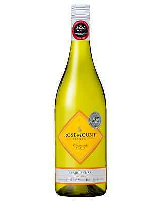 Rosemount Diamond Label Chardonnay case of 6 Dry White Wine 750mL