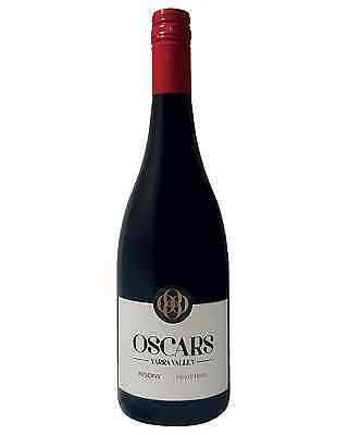 Oscars Reserve Pinot Noir case of 6 Dry Red Wine 750mL Yarra Valley