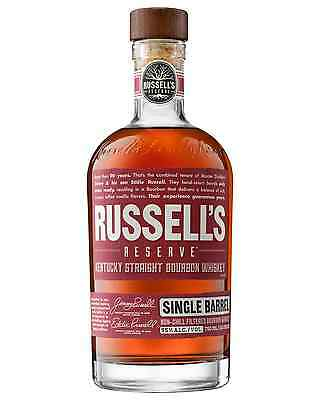 Russell's Reserve Single Barrel Kentucky Straight Bourbon Whiskey 700mL bottle