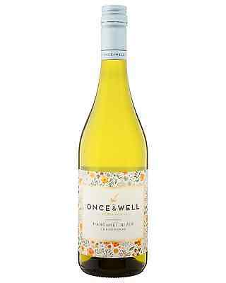 Once & Well Chardonnay case of 6 Dry White Wine 750mL Margaret River