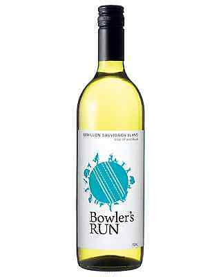 Bowler's Run Semillon Sauvignon Blanc case of 6 Dry White Wine 750mL