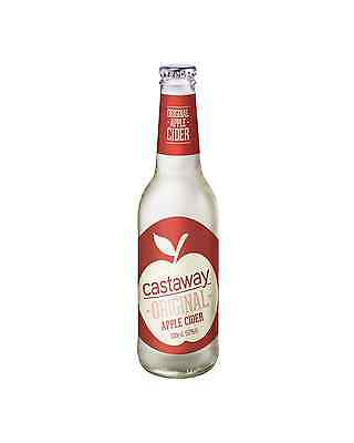 Castaway Original Apple Cider Bottles 330mL case of 24
