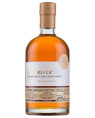 Spey River Double Cask Single Malt Scotch Whisky 700mL case of 6 Speyside