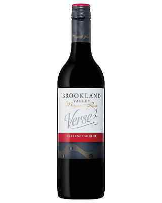 Brookland Valley Estate Verse 1 Cabernet Merlot case of 6 Dry Red Wine 750mL