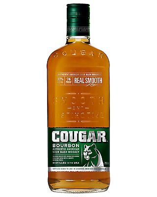 Cougar Bourbon Whiskey 700mL case of 12 American Whiskey