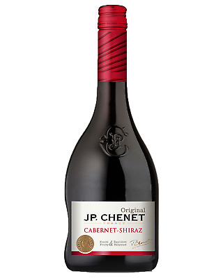 JP Chenet Cabernet Shiraz case of 6 Dry Red Wine 750mL Languedoc-Roussillon