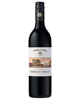 Tyrrell's Old Winery Cabernet Merlot bottle Dry Red Wine 750mL
