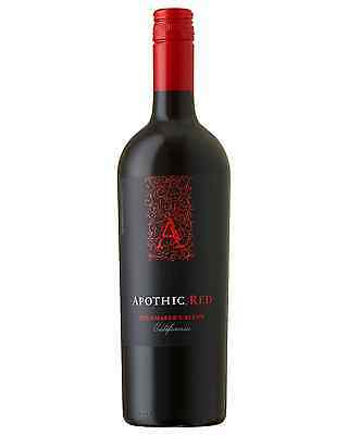 Apothic Red Winemaker's Blend case of 6 Red Blend Dry Red Wine 750mL