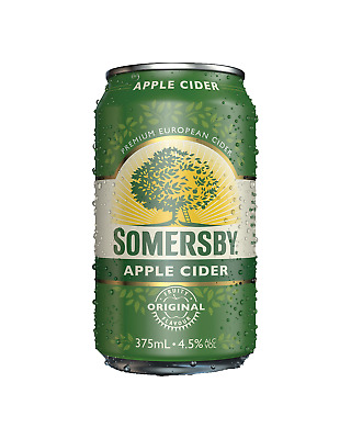 Somersby Apple Cider Cans 10 Pack 375mL pack of 10