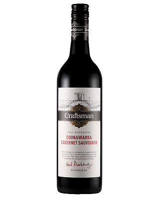 Craftsman Cabernet Sauvignon case of 6 Dry Red Wine 750mL Coonawarra