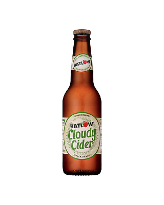 Batlow Cider Co Cloudy Apple Cider 330mL case of 24