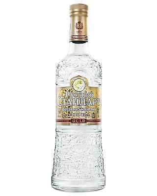 Russian Standard Gold Vodka 700mL case of 6