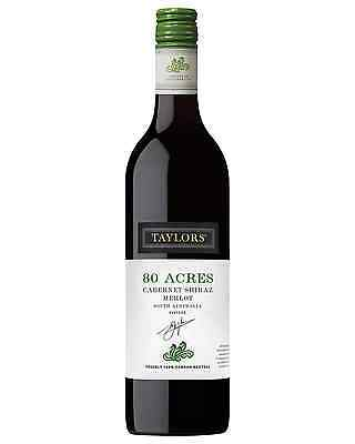 Taylors Eighty Acres Cabernet Shiraz Merlot case of 6 Dry Red Wine 750mL